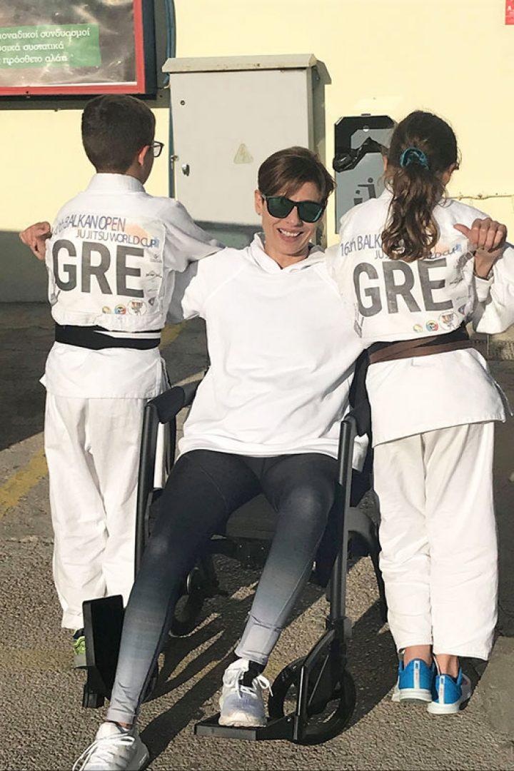 Μαμά με αναπηρία