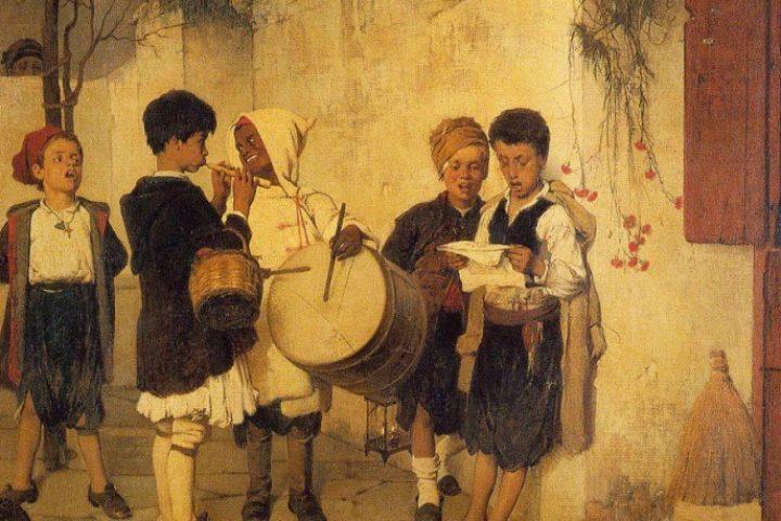 Τα κάλαντα | Η όμορφη ιστορία του αριστουργήματος του Νικηφόρου Λύτρα