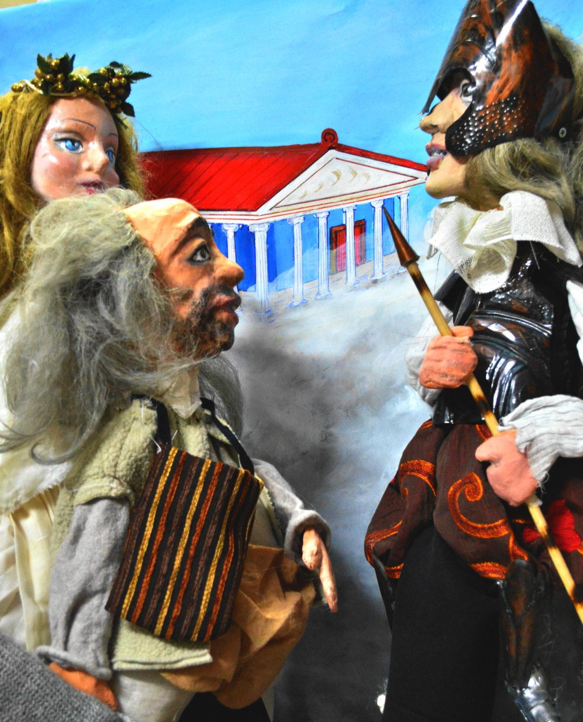 «ΕΙΡΗΝΗ του Αριστοφάνη» (διασκευασμένο για μικρά παιδιά) – ΚΟΥΚΛΟΘΕΑΤΡΟ ΧΑΝ Θεσσαλονίκης