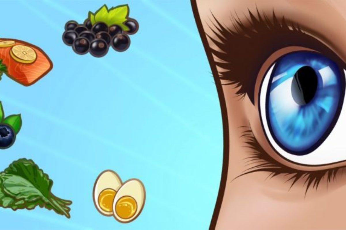 Τα καλύτερα τρόφιμα για την υγεία των ματιών