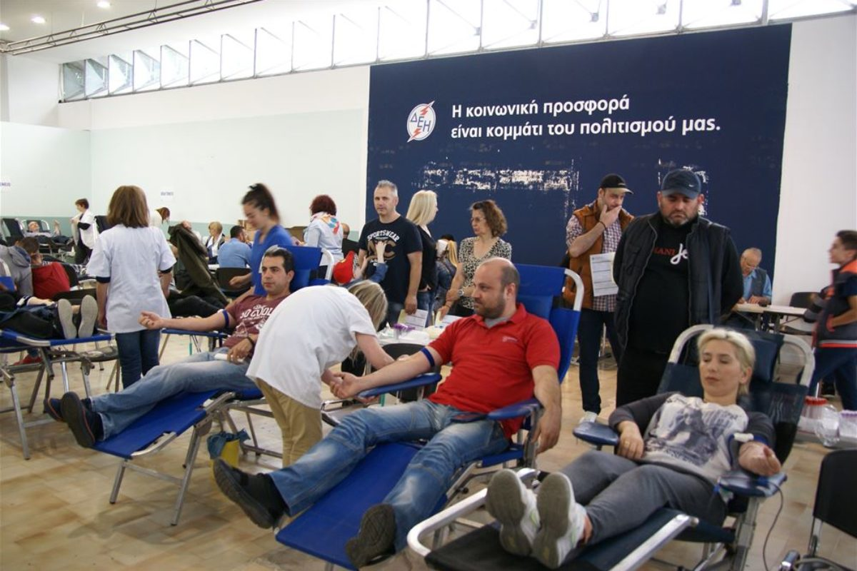 Έκκληση από το νοσοκομείο Ιπποκράτειο για αιμοδότες