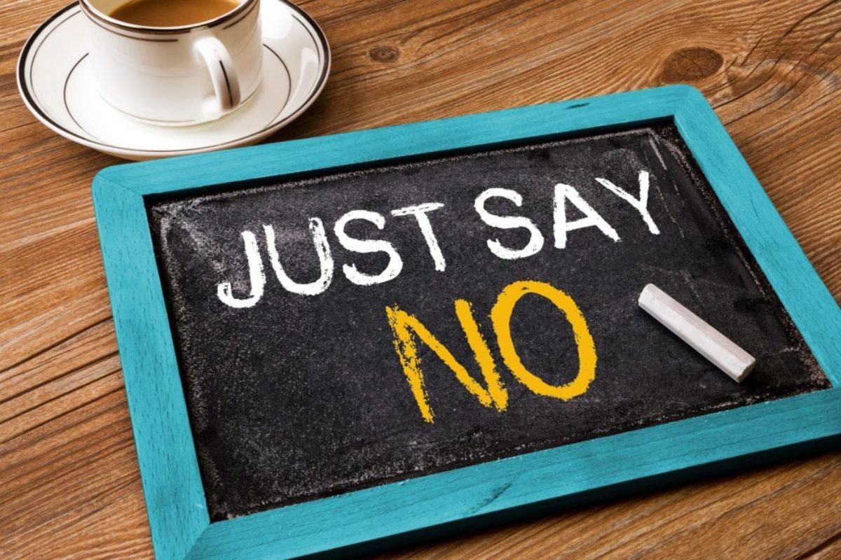 Ένας ψυχολόγος συμβουλεύει: Βάλτε τα όρια σας. Μάθετε να λέτε όχι!