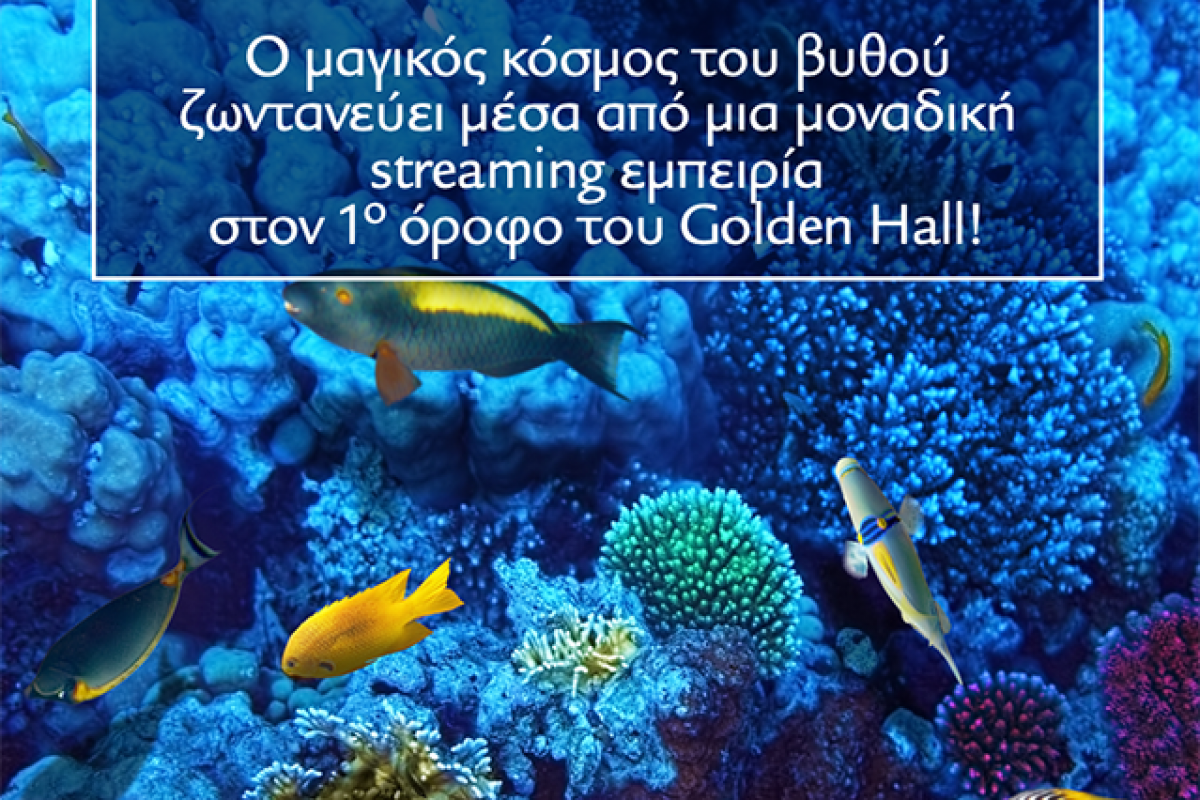 Εξερευνήστε το Βυθό στο Golden Hall!
