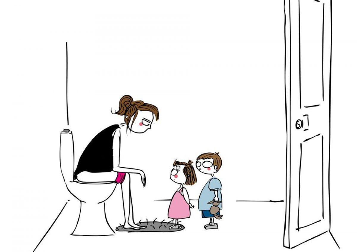 Όταν μια μητέρα πει ότι είναι κουρασμένη, εννοεί αυτό και μόνο!