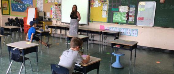 ΑΠΘ: 50% Κάτω O Δείκτης Μετάδοσης Κορονοϊού Σε Τάξη Με 15 Μαθητές