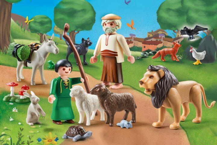 Οι μύθοι του Αισώπου ζωντανεύουν χάρη στο PLAΥMOBIL Play & Give