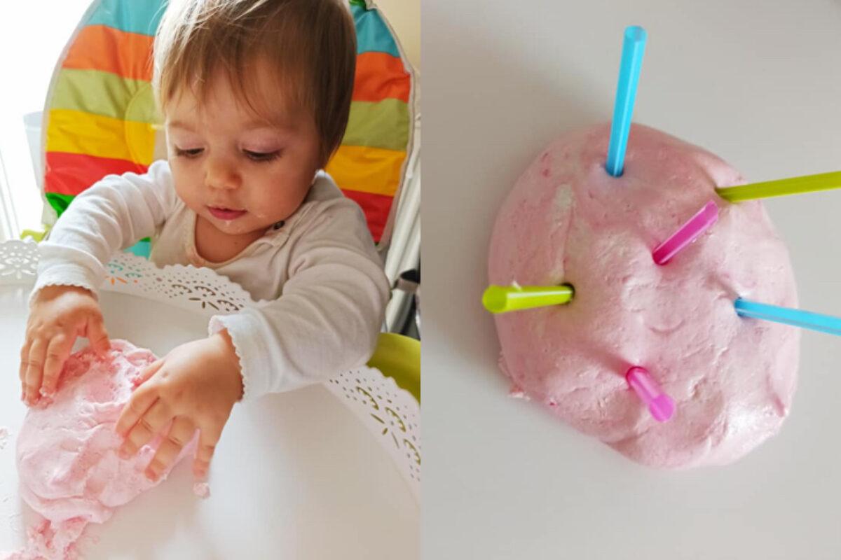 Σπιτική συνταγή για 100% ασφαλή πλαστελίνη για μωράκια!