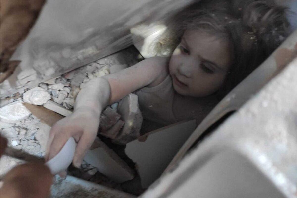 Σεισμός – Τουρκία: Το θαύμα της ζωής – Απεγκλωβίστηκε 4χρονη μετά από 91 ώρες κάτω από τα συντρίμμια!