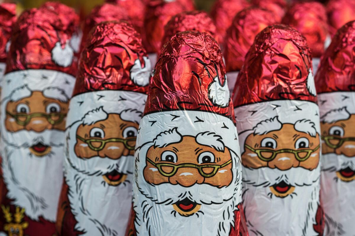 Ματωμένες χριστουγεννιάτικες σοκολάτες