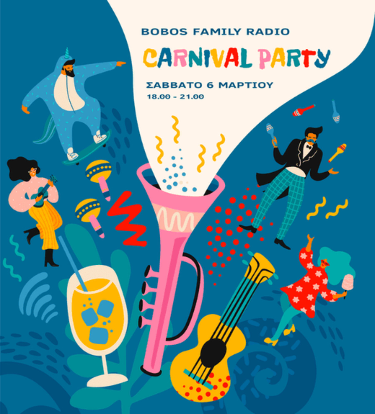Bobos Family Radio | Carnival Party 6.3.21