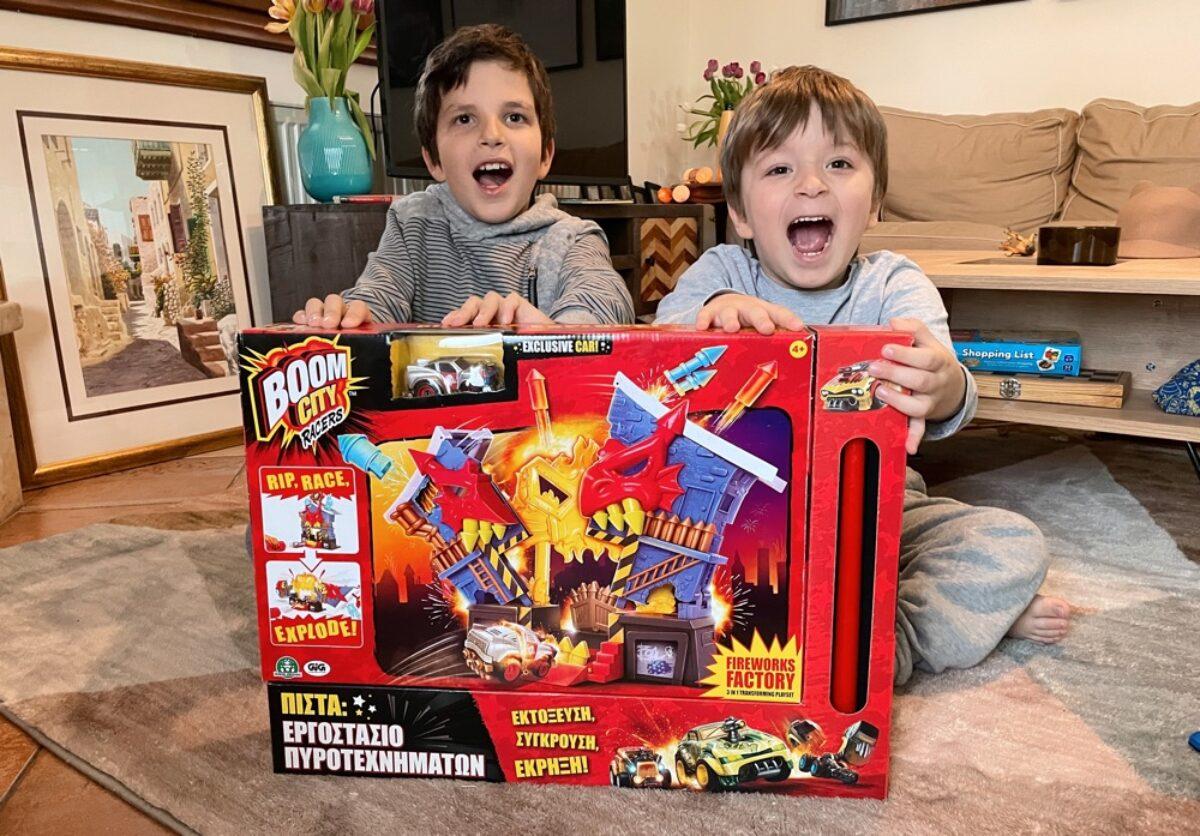 Βρήκαμε την πιο «εκρηκτική» παιχνιδολαμπάδα!