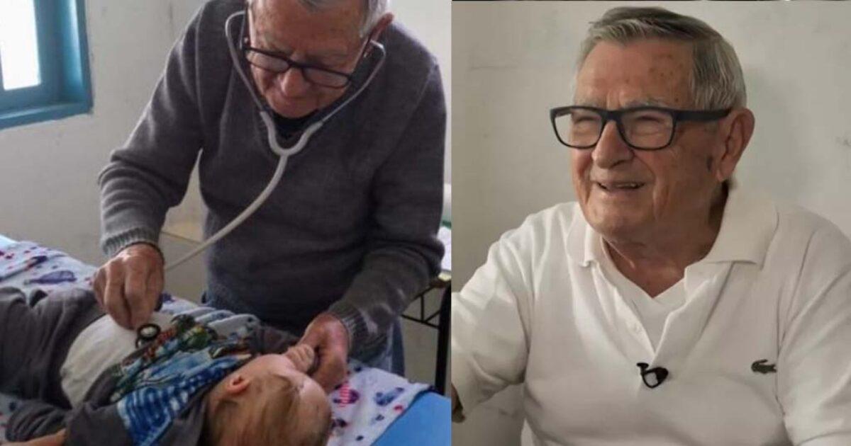 Παιδίατρος 92 χρονών εξετάζει φτωχά παιδιά δωρεάν. Θα πεθάνω προσφέροντας, λέει ο ίδιος