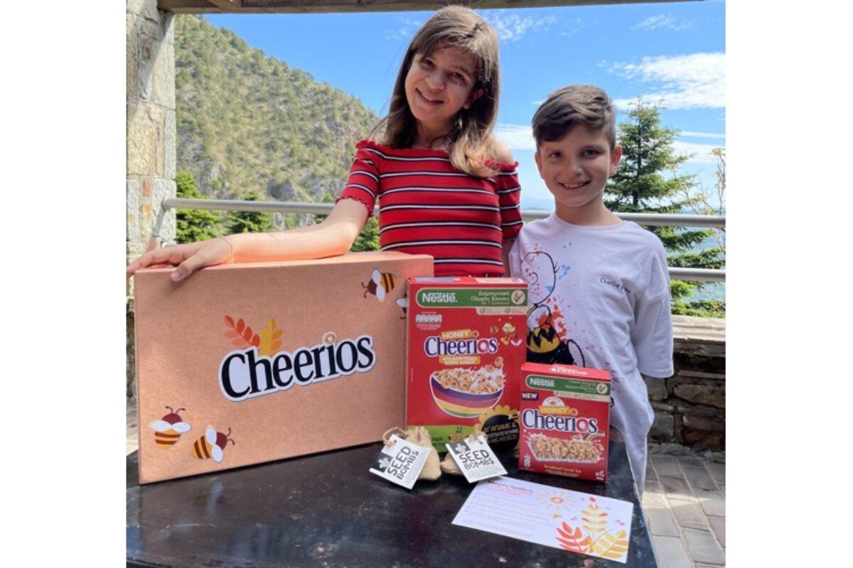 Προστατεύουμε τις μέλισσες παρέα με τα αγαπημένα δημητριακά HONEY CHEERIOS®!