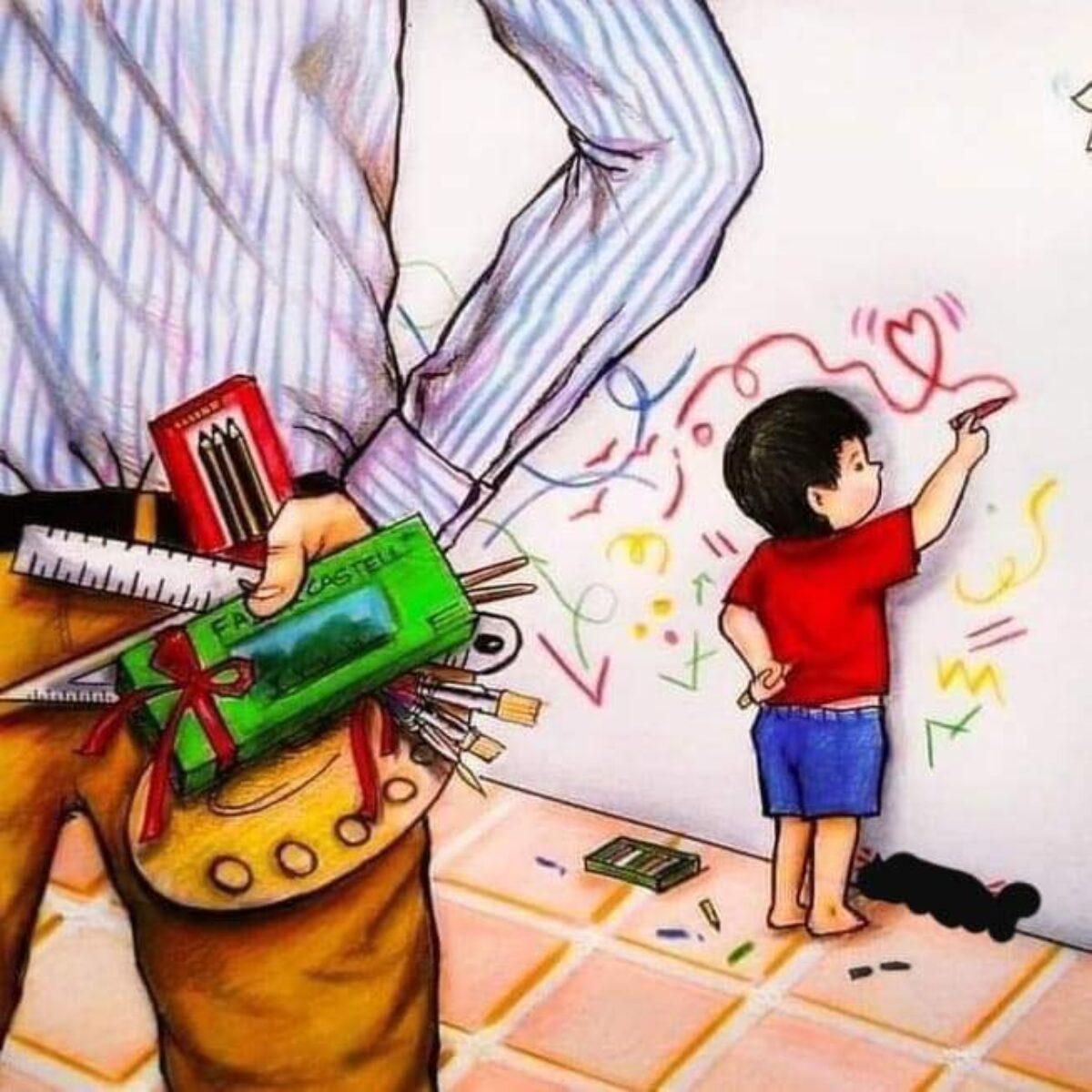 Εσύ αποφασίζεις πώς θέλεις να σε θυμούνται τα παιδιά σου.