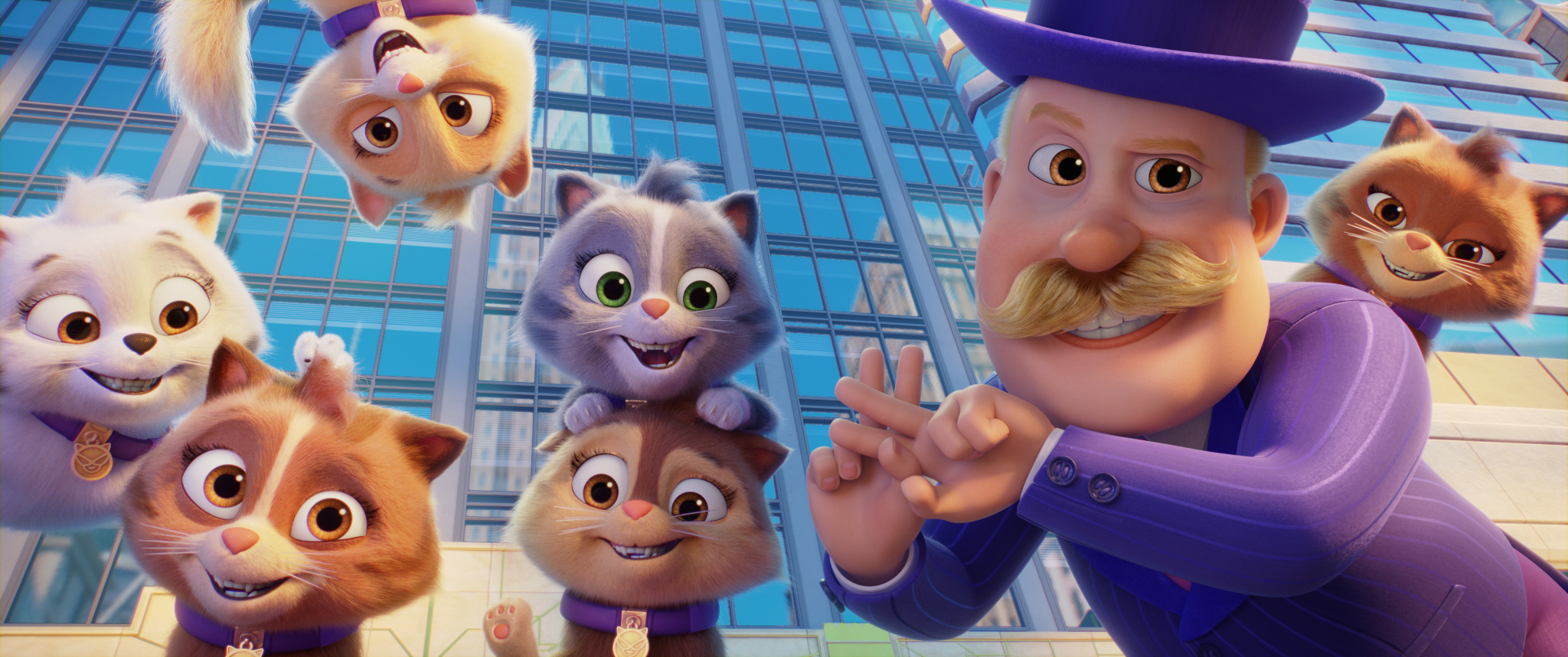 Mayor Humdinger (voiced by Ron Pardo) in PAW PATROL: THE MOVIE from Paramount Pictures. Photo Credit: Courtesy of Spin Master.