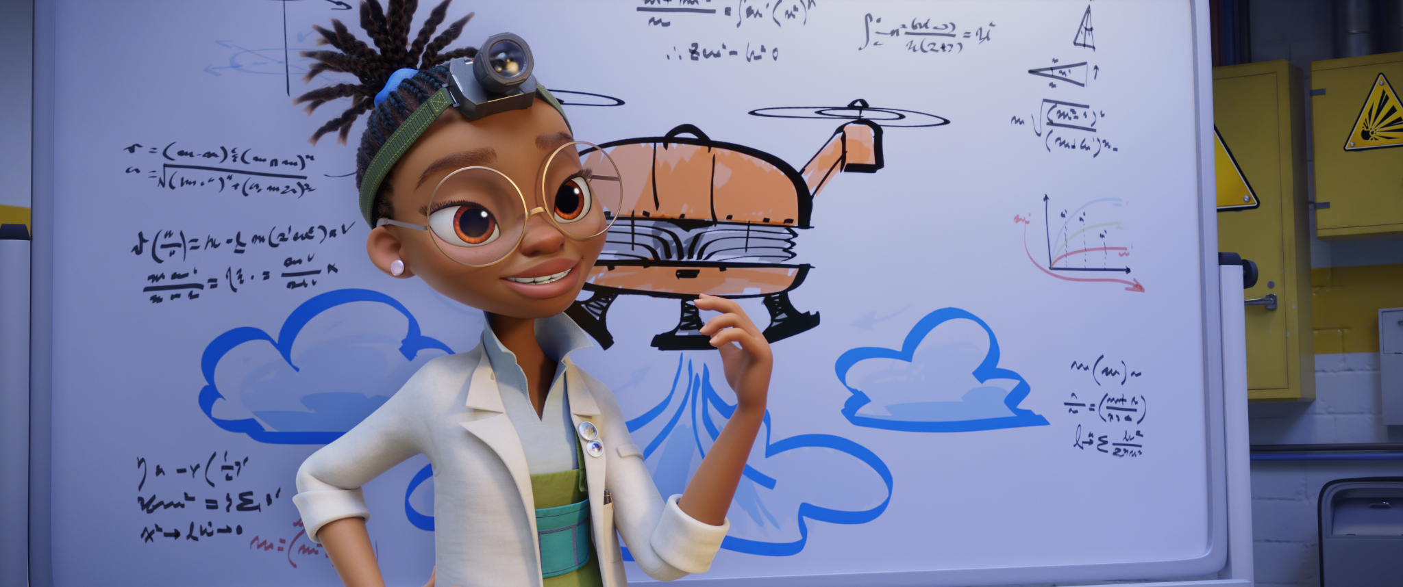 Kendra Wilson (voiced by Yara Shahidi) in PAW PATROL: THE MOVIE from Paramount Pictures. Photo Credit: Courtesy of Spin Master.