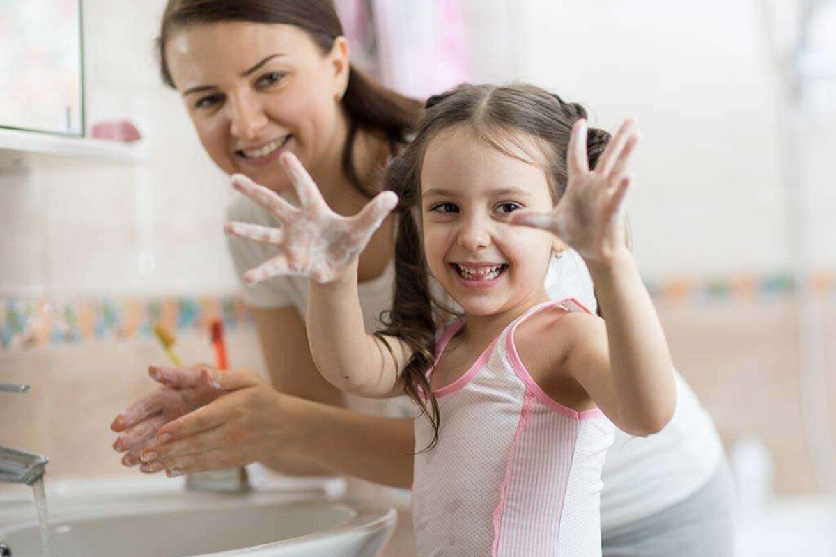 «Διδάσκουμε» κανόνες υγιεινής στα παιδιά μας